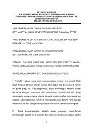 SPEECH LIBERALISATION.pdf - Kementerian Kerja Raya Malaysia