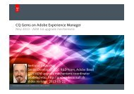 upgrading - Day - Adobe Experience Manager