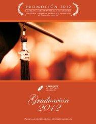 Graduación 2012 - My Laureate