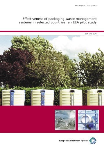 Effectiveness of packaging waste management systems in ... - Repak