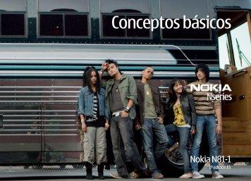Conceptos básicos - Nokia