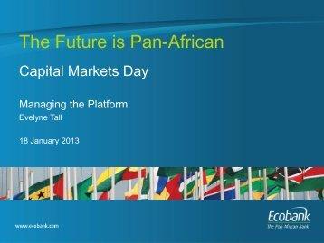 Group COO, Evelyne Tall - Ecobank
