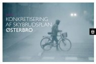 konkretisering af skybrudsplan østerbro - Københavns Kommune