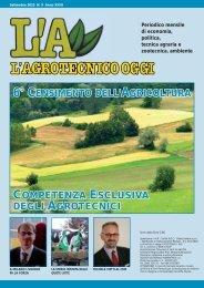 L'Agrotecnico Oggi settembre 10 - Collegio Nazionale degli ...