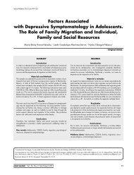 Factors Associated with Depressive Symptomatology ... - Salud Mental