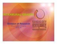 Intramural grants S Hunter