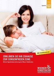 Kundenfolder Eigenheimversicherung - Wiener Städtische