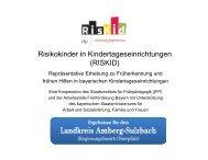 Amberg-Sulzbach - Arbeitsstelle Frühförderung Bayern