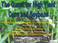 The Quest for High Yield Corn and Soybean - South Dakota Agri ...