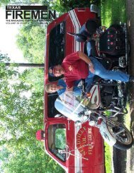 Texas firemen - State Firemen's & Fire Marshals'