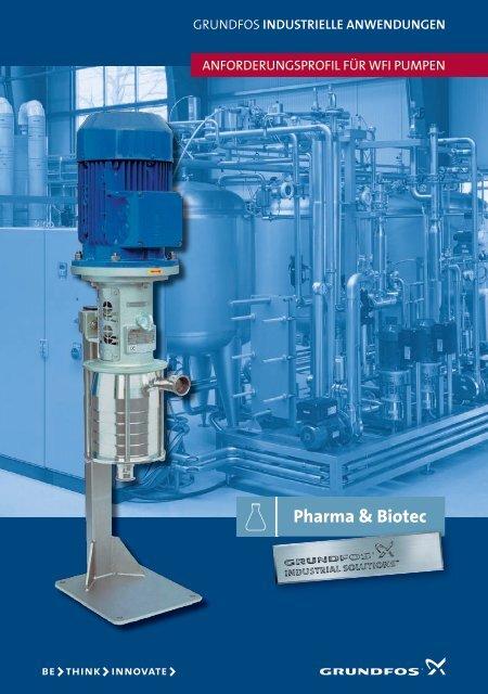 Anforderungsprofil für WFI-Pumpen - Grundfos