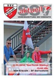 SSV Aktuell Nummer 5 Saison 2014/15
