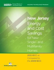 New Jersey - Building Energy Codes