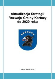 Aktualizacja Strategii Rozwoju Gminy Kartuzy do 2020 roku