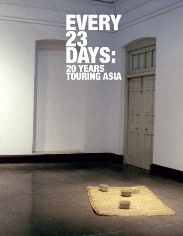 Every 23 Days - Asialink - University of Melbourne