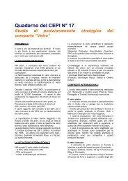 Scaricare una sintesi dello studio - Tunisie industrie