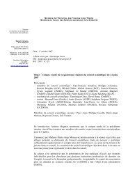 Compte rendu de la réunion du 21 juin 2007 (pdf - 216.3 ko)