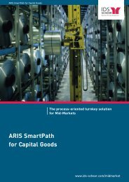 ARIS SmartPath for Capital Goods The process ... - IDS Scheer AG
