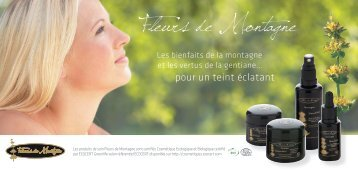 Fleurs de Montagne - Applications services