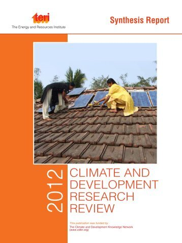 CLIMATE AND DEVELOPMENT RESEARCH REVIEW - CDKN Global