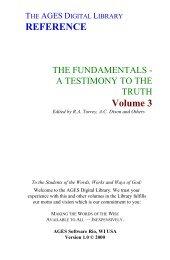 Torrey - Online Christian Library