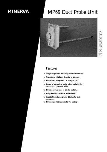 MP69 Duct Probe Unit