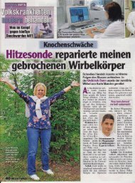 Download Knochenschwäche - Klinik für Orthopädie und ...