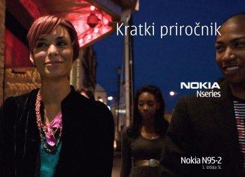 Kratki priročnik - Nokia