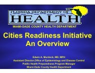 An Overview - Miami-Dade County Health Department