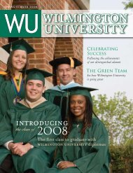 introducing the student affairs department - Wilmington University