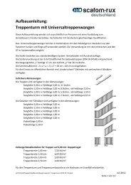 Aufbauanleitung Universal- Treppenturm 2012-07-31
