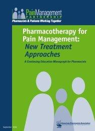 Pain Insert pdf/2008 - American Pharmacists Association