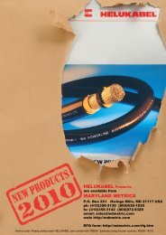 New cable accessory Products 2010 - Maryland Metrics
