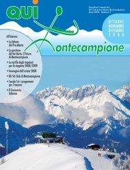 qui montecampione n° 2 ottobre - novembre - dicembre 2008