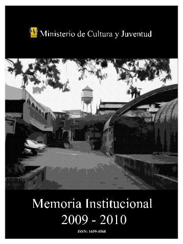 Memoria institucional 2009-2010 - Sinabi