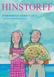 KINDERBUCH HERBST 2011 mit ... - Hinstorff Verlag