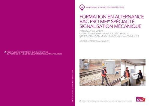 formation en alternance bac pro mei* spécialité ... - SNCF.com