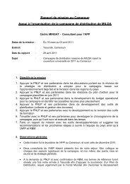 Cameroun - The Alliance for Malaria Prevention