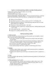 Uputstvo za projekat PI-T3_2011_12 - Visoka poslovna Å¡kola ...