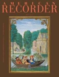 m a y 2 0 1 1 - American Recorder Society