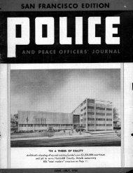 June-July 1958 - San Francisco Police Officers Association