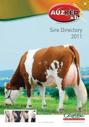 Sire Directory 2011 - AuzRed Xb