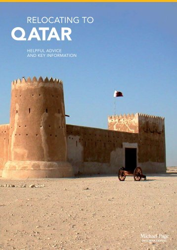 Relocating to Qatar - Michael Page