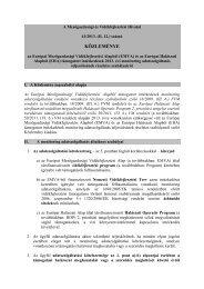 41/2013. (II.12.) - Mezőgazdasági és Vidékfejlesztési Hivatal