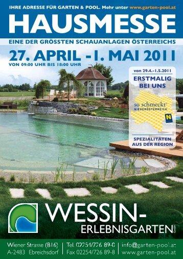 27. aPril -1. mai 2011 - Wessin Erlebnisgarten GmbH