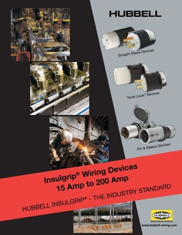 Insulgrip® Wiring Devices - Hubbell Wiring Device-Kellems
