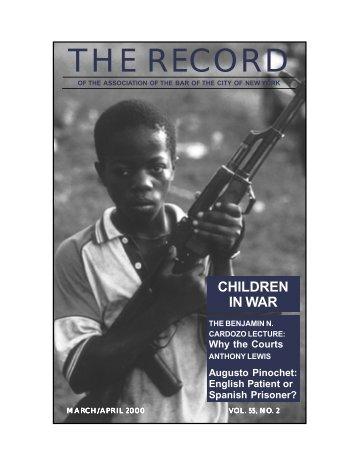 THE RECORD - New York City Bar Association