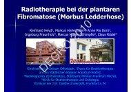 Morbus Ledderhose - Wcenter.de