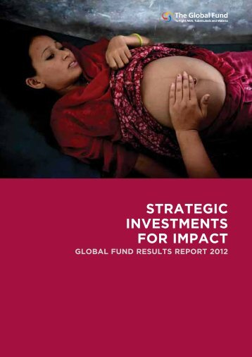 Strategic Investments for Impact: Global Fund Results Report 2012 ...