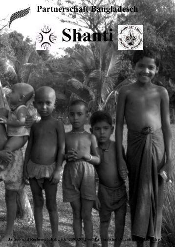 Projektzeitung 2002 - Shanti Partnerschaft Bangladesch eV